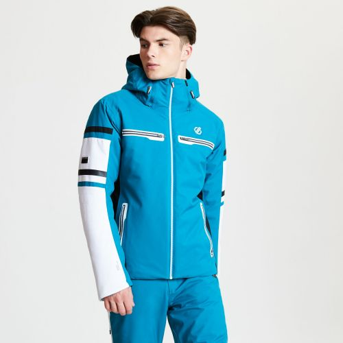 Men's Outshout Black Label Ski Jacket - Ocean Depths